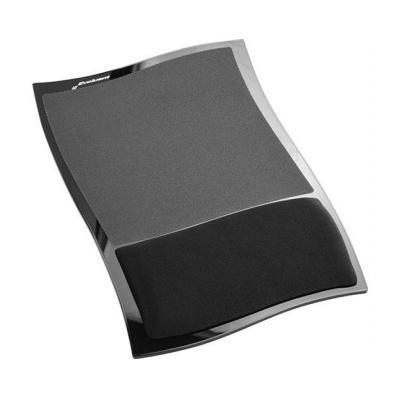 Evoluent Wrist Comfort Mousepad muismat - Zwart