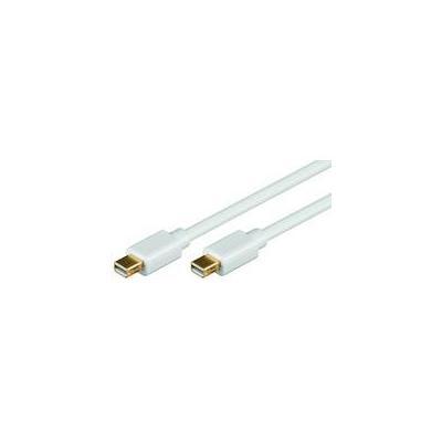 Microconnect MDPMDP2, Mini Displayport, M-M, 2m - Wit