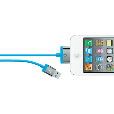 Belkin kabel: MIXIT ChargeSync, 2m - Blauw