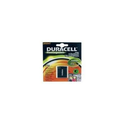 Duracell batterij: Digital Camera Battery 3.7v 670mAh 2.5Wh - Zwart