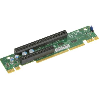 Supermicro 2U, LHS, Passive, Output: (2) PCI-E x16, Signal: (2) PCI-E x16 Interfaceadapter