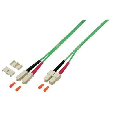 EFB Elektronik O0318.10OM5 Fiber optic kabel - Groen