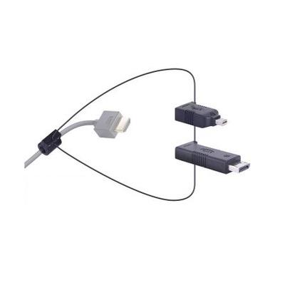 Liberty Universal HDMI Adapter Ring Display Port and Mini Display Port Kabel adapter - Zwart