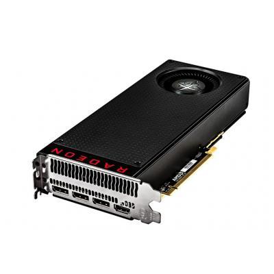 Xfx videokaart: Radeon RX 480 4GB - Zwart, Rood