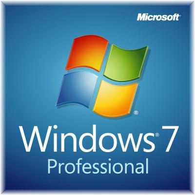 Microsoft Besturingssysteem: Windows 7 Professional, SP1, x32/x64, OEM, DSP, DVD, ENG