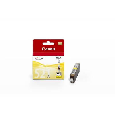 Canon CLI-521 Y Inktcartridge - Geel