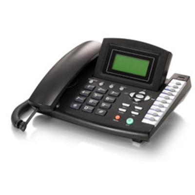 LevelOne VOI-7000 IP telefoon - Zwart
