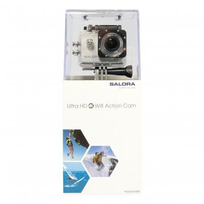 Salora actiesport camera: ProSport Wifi PSC8635UWD - Zwart, Wit