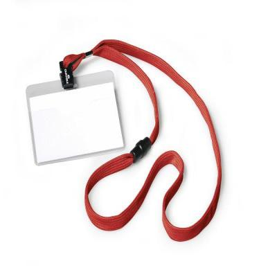 Durable NULL Badge - Rood, Transparant
