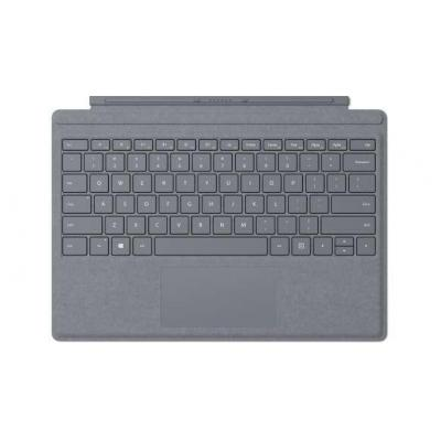 Microsoft Surface Pro Signature Type Cover - QWERTZ Mobile device keyboard - Platina