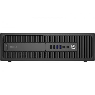 Hp pc: EliteDesk 800 G2 SFF - Intel Core i5 - 128GB SSD - Zwart
