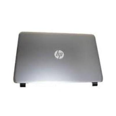 Hp notebook reserve-onderdeel: LCD Back Cover, Silver - Zilver