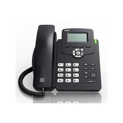Tiptel ip telefoon: 3210 - Zwart, Wit