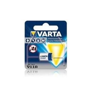 Varta batterij: V 11A - Blauw, Zilver