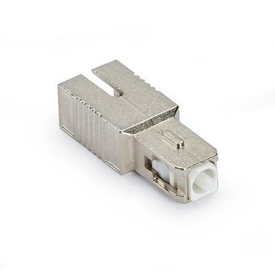 Black Box Fiber Optic Inline Attenuator Single Mode SC/APC 2 DB Fiber optic adapter - Zilver