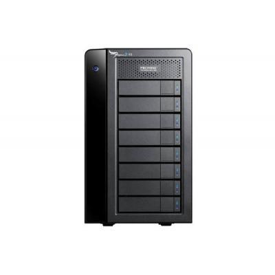 Promise technology SAN: Pegasus2 R8 - Zwart