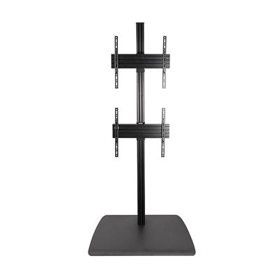 B-Tech System X Universal Dual Stack Flat Screen Floor Stand - 1.8m TV standaard - Zwart
