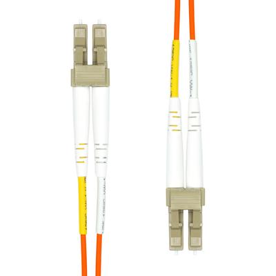 ProXtend LC-LC UPC OM2 Duplex MM Fiber Cable 1M Fiber optic kabel - Oranje