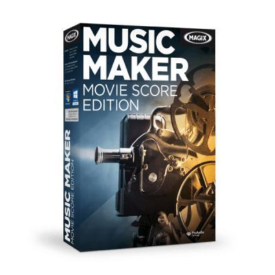 Magix audio software: Music Maker Movie Score Edition 6