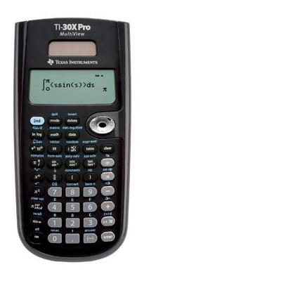 Texas instruments calculator: WETENSCH REKENMACH W30XPRO