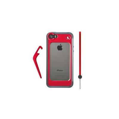 Manfrotto Bumper for iPhone 5/5S + kickstand + hand-wrist strap Mobile phone case - Rood