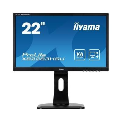 "Iiyama monitor: ProLite XB2283HSU-B1DP 22"" Full HD VA - Business - Zwart"