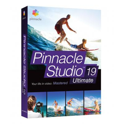 Corel videosoftware: Pinnacle Studio 19 Ultimate