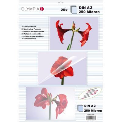 Olympia Lamination Pouches, A2 - 175 Micron 25 pcs. Laminatorhoes - Transparant