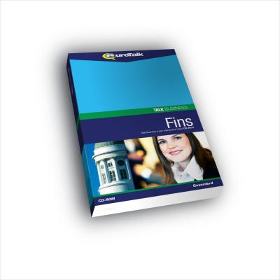 Eurotalk educatieve software: Talk Business, Leer Fins (Gemiddeld, Gevorderd)