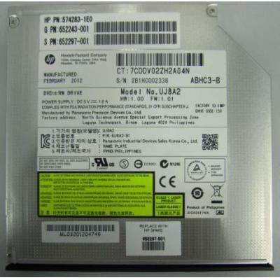 Hewlett Packard Enterprise DVD-RW optical disk drive (Jack Black color) - SATA interface, .....