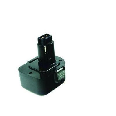 2-power batterij: PTH0072A- NiMH, 12V, 2000mAh, 482g, black - Zwart
