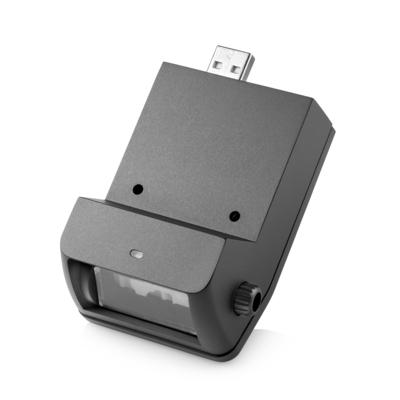 Hp barcode scanner: RP9 geïntegreerde barcodescanner, onder - Zwart