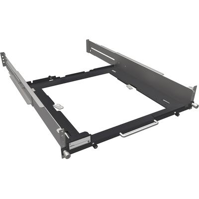HP Z2/Z4 in diepte verstelbare vaste-railrekkit Rack toebehoren - Zwart,Grijs,Metallic