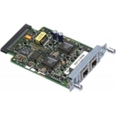 Cisco ISDN access device: Two-port ISDN BRI VIC, S/T interface, NT or TE, RF