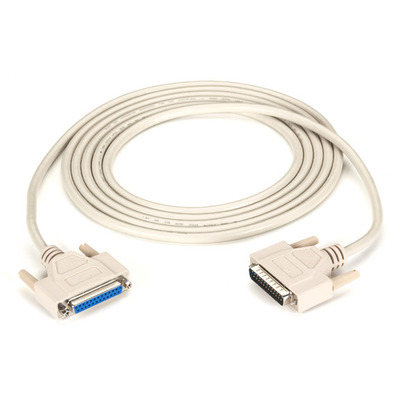 Black Box 3m DB25 Seriele kabel - Beige