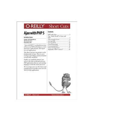 O'reilly boek: Media Ajax with PHP 5 - eBook (PDF)