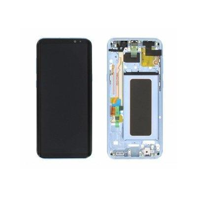 Samsung mobile phone spare part: G955F Galaxy S8 Plus LCD Display Module - Blauw