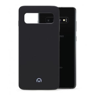 Mobilize Rubber Gelly Case Samsung Galaxy S10+ Matt Black Hoes