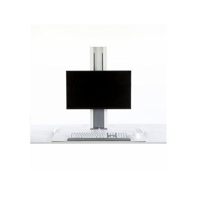 Humanscale QuickStand Monitorarm - Wit