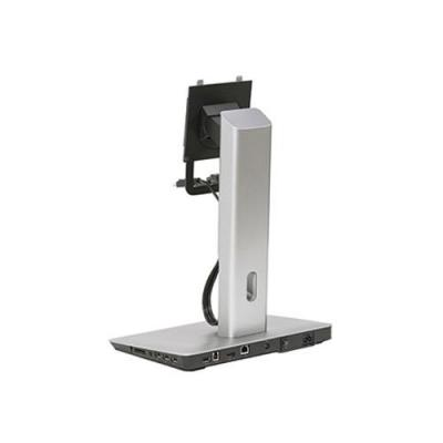 Dell : Monitor Stand with USB 3.0 Dock - Zwart, Zilver