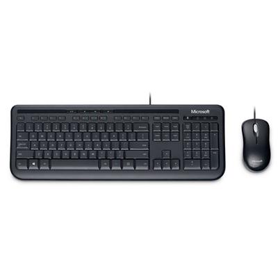 Microsoft Wired Desktop 600 toetsenbord - Zwart