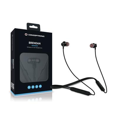 Conceptronic BRENDAN01B Headset - Zwart