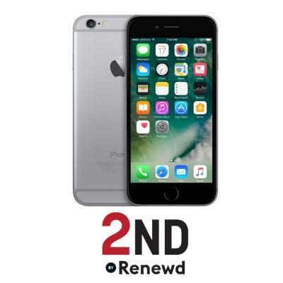 2nd by renewd smartphone: Apple iPhone 6 Plus refurbished door 2ND - 16GB Spacegrijs (Refurbished ZG)