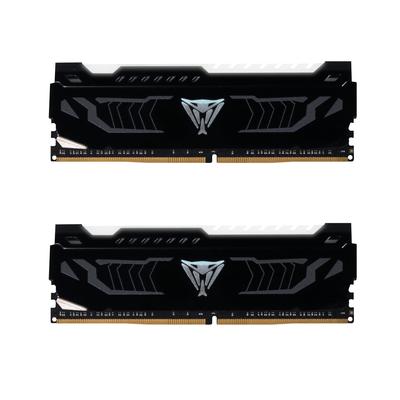 Patriot Memory Viper White LED RAM-geheugen - Zwart, Wit