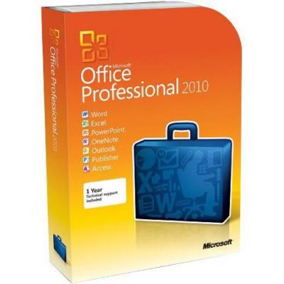 Microsoft Office 2010 Professional Plus, GOV, OLP-NL, SA software suite