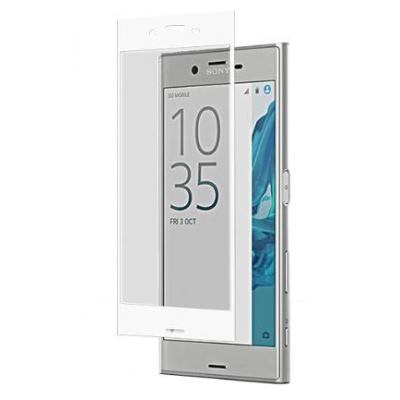 Roxfit screen protector: Xperia XZ Tempered Glass Protector - Transparant, Wit