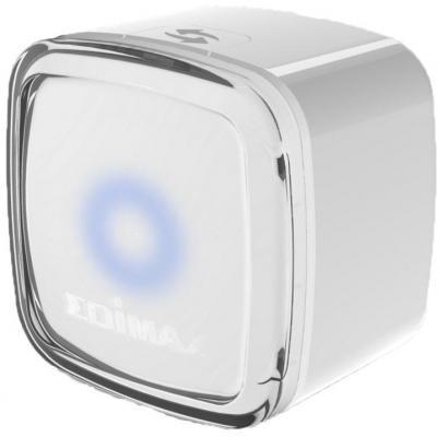 Edimax netwerk verlenger: 2.4GHz, 300Mbps, 802.11 b/g/n, 64/128-bit WEP/WPA-PSK/WPA2-PSK, WPS, 49g, white - Wit