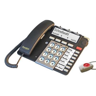 Tiptel S510 IP RADIO Dect telefoon - Zwart
