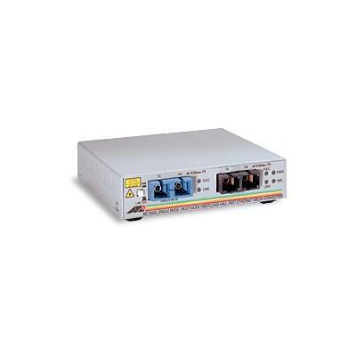Allied telesis media converter: AT-MC104XL-60 - Fiber SC multi-mode to fiber SC single-mode media converters
