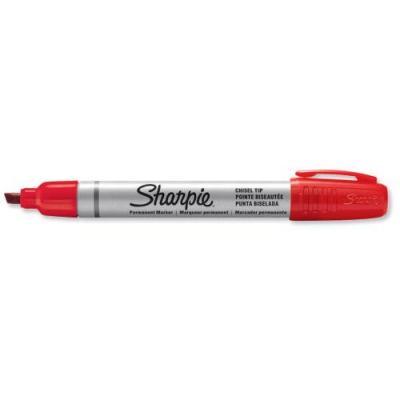 Sharpie marker: S0945790, red, metal, 12x - Metallic, Rood